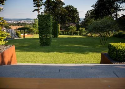 Hausgarten in Unterfranken