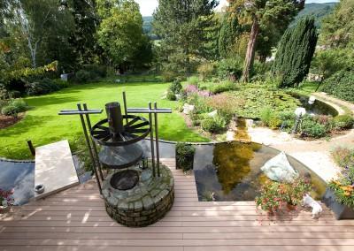 Hausgarten im Taunus