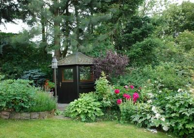 Hausgarten bei Glashütten