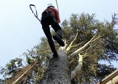 Seilklettertechnik