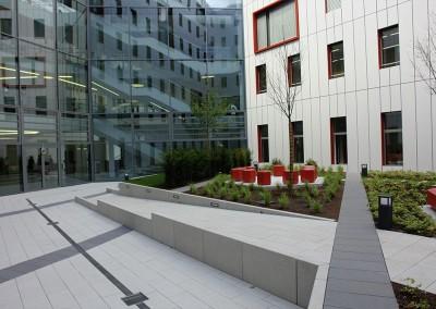 H.O.L.M. Innenhof, Frankfurt